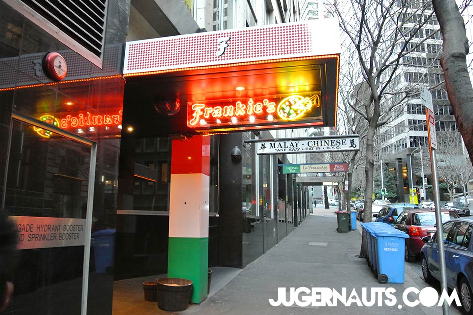 Frankie's Pizza | Hunter Street Sydney