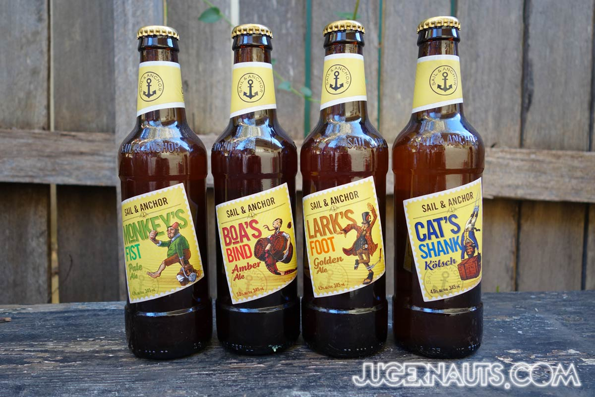 Sail and Anchor Range | Beer
