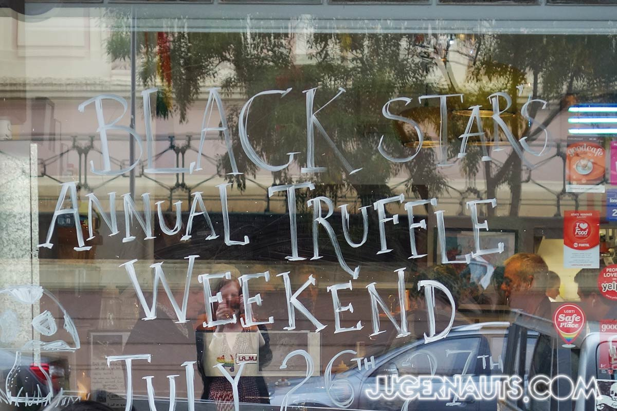 BlackStar Pastry Truffle Weekend 2014 | Newtown Rosebery